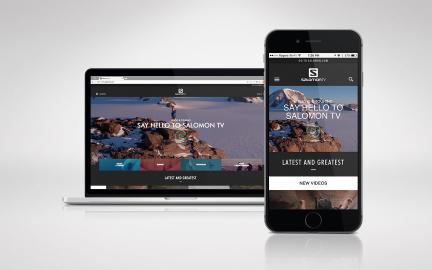 Salomon TV Website